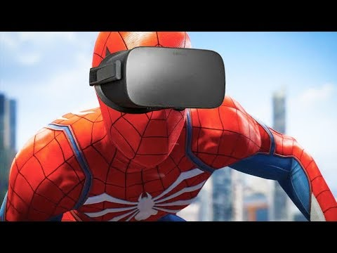 VR虛擬當蜘蛛人的感覺
