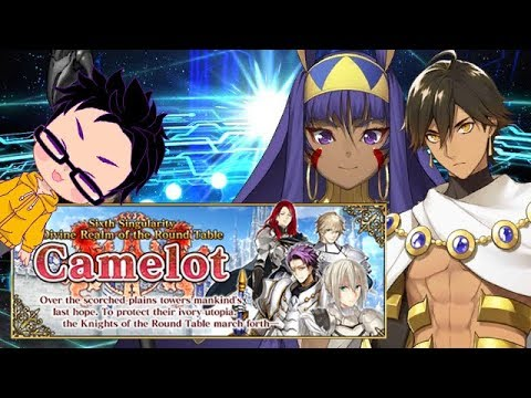 Fate/Grand Order NA Camelot Summoning Campaign Part 1