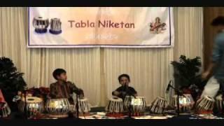 TablaNiketan GuruPoornima 2010: Gandhar & Rishab's Tabla Duet