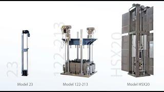 HSX35M eXtreme speed shock machine Lansmont Corporation