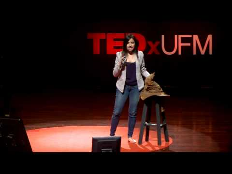 Cómo apasionarte por la literatura   Andrea  Dardón   TEDxUFM