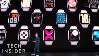 Watch Apple Unveil The Apple Watch Series 5
