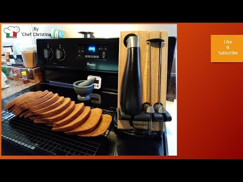 Bread cutting with the Cusinart CEK-40 Electric knife