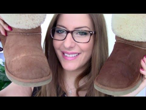 Dreckige Ugg Boots reinigen