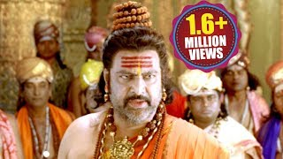 Jagadguru Adi Shankara Scenes - Rudraksha Rushi Super Dialogues And Give Sarada Peetam To Shankara
