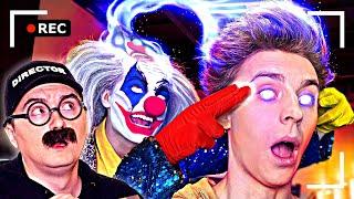Как снимали А4: Клоун вселился в Влада А4!