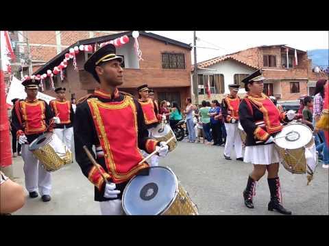 Fiestas Señor Caido Girardota, Procesion del domingo, Antioquia, Colombia