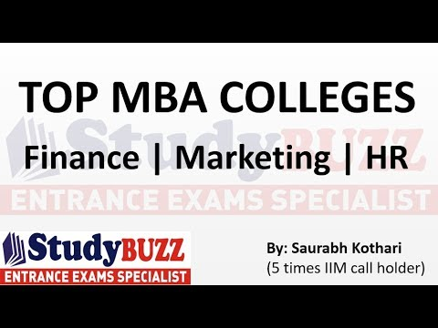 Appearing for CAT? Check the top MBA colleges in Finance, Marketing and HR