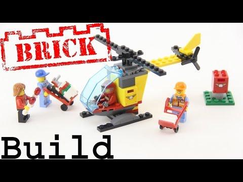Vidéo LEGO City 60100 : Ensemble de démarrage de l'aéroport