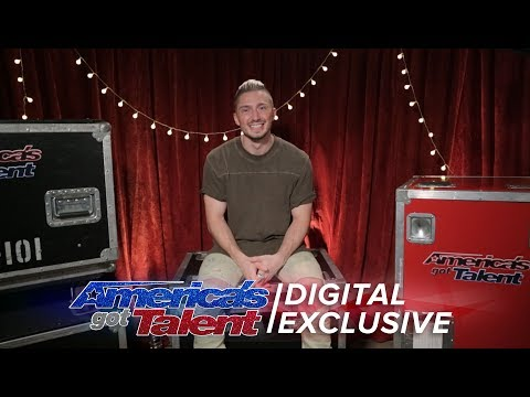 Magician Tom London Chats About His Dreams of Being on the AGT Stage - America's Got Talent 2017