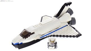 LEGO Creator 3-in-1 Space Shuttle Explorer Review! 31066