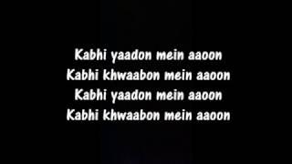 Kabhi Yaadon Mein aaoon lyrics | Arijit Singh   - YouTube