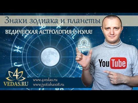 004.  Знаки Зодиака и планеты