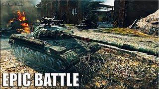 ВОТ это РЕАЛЬНО ЗАТАЩИЛ 🌟 медаль Колобанова, Пул 🌟 танк Т-10 лучший бой World of Tanks