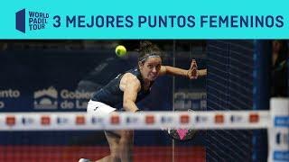 Los 3 Mejores Puntos Femeninos Del Logroño Open 2019 | World Padel Tour