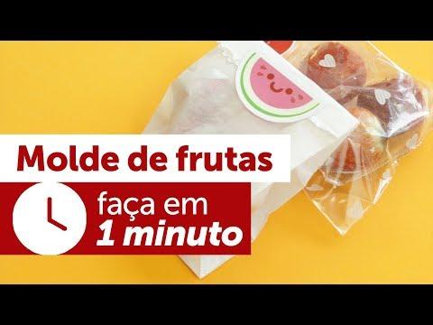 Faça Você Mesmo - Molde de Frutas