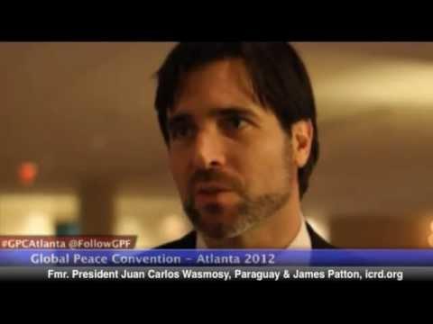 Interview with Fmr. President Juan Carlos Wasmosy - GPC Atlanta 2012