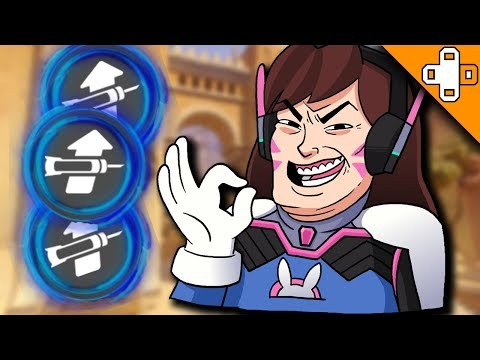 BOOST ME NANA! - Overwatch Funny & Epic Moments 245 - Highlights Montage