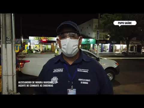 Secretaria de Saúde realiza desinfecção em Jaciara