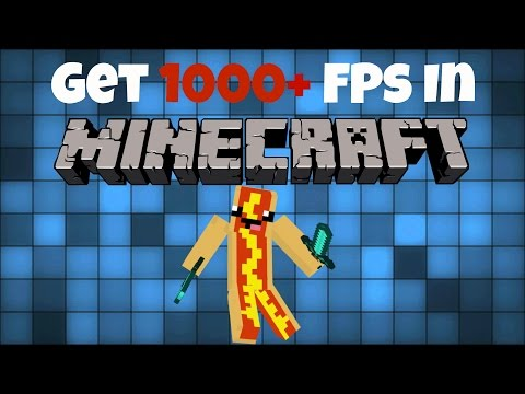 How to get 1000 FPS in Minecraft