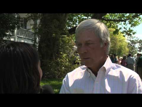 Interviewing Ben Crenshaw on Sunday at the Masters