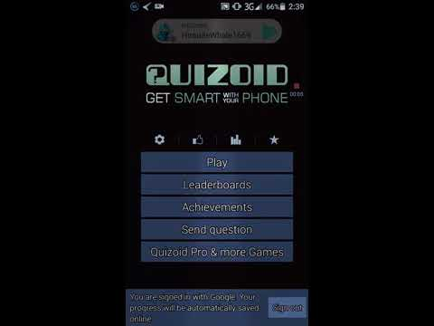 Quizoid App - (Quiz ) Classic And 20 Questions Mode