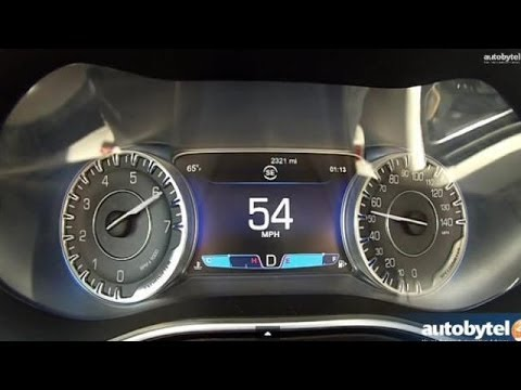 2015 Chrysler 200C AWD 0-60 MPH Acceleration Test Video