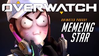 Overwatch Animated Short | Memeing Star