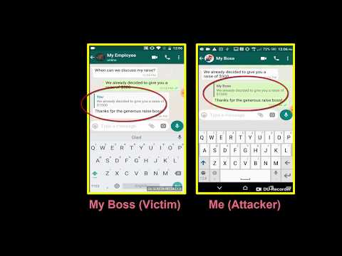 Check Point's Oded Vanunu Demonstrates Cyber Security Vulnerabilities in WhatsApp