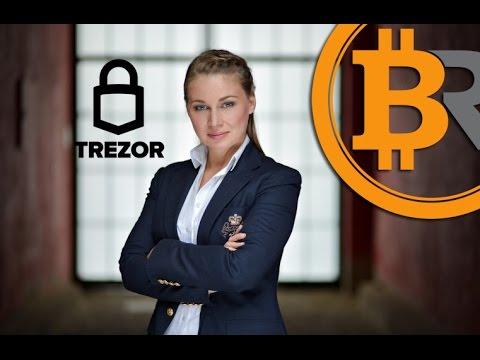 Interview with Trezor wallet CEO - Alena Vranova