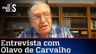 Professor Olavo de Carvalho na Jovem Pan