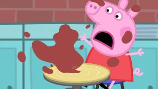 Peppa Pig English Episodes | Pottery with Peppa Pig Peppa Pig Official