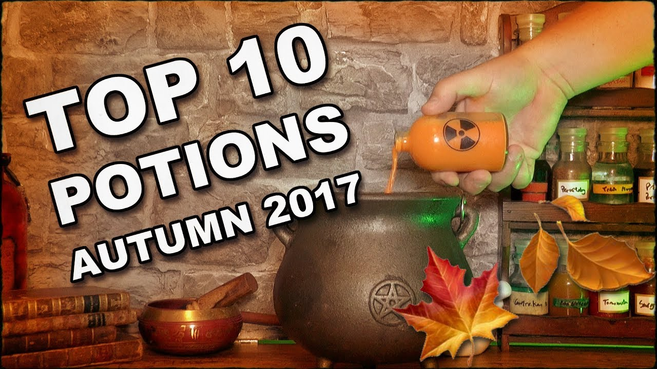 Higgypop Potions Top 10 Recipes Autumn 2017