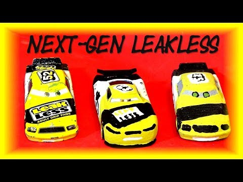 Pixar Cars Next Gen Leakless With Retired Leakless And Primer Lightning McQueen