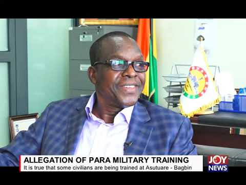 ALLEGATION OF PARAMILITARY TRAINING: Some civilians are being trained at Asutuare - Bagbin