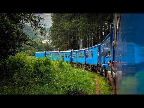 Train Trip Colombo to Kandy, Nanu Oya, Badulla