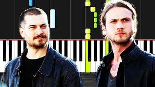 Icerde Dizi-Jenerik Muzik-Piano By VN