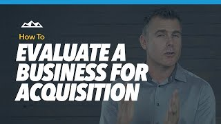 How to Evaluate a SaaS Business For Acquisition