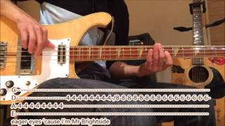The Killers – Mr. Brightside (bass Cover With Tabs And Lyrics)
