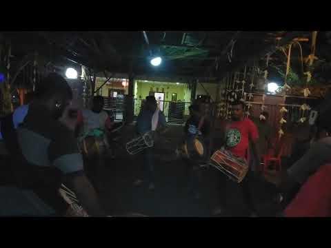 Ruthrakali Amman urumi melam rocking at dengkil kampong baru cina