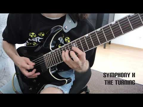 Jason Melidonie: Symphony X - The Turning Guitar Solo Cover