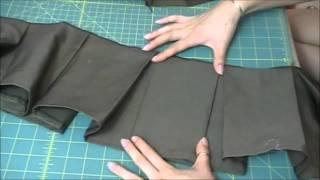 Юбки, Baby Doll's Sucker Punch Box Pleat Skirt With Yoke