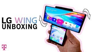 LG Wing 5G Unboxing and Specs | T-Mobile