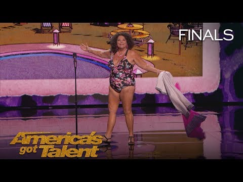 Vicki Barbolak: Comedian Transforms Finale Into Swimsuit Contest - America's Got Talent 2018