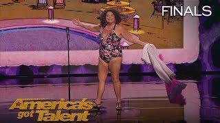 Vicki Barbolak: Comedian Transforms Finale Into Swimsuit Contest - America