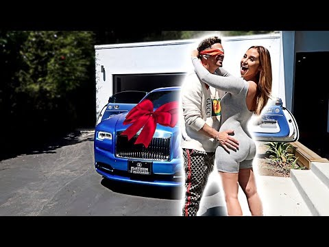 SURPRISING MY HUSBAND WITH HIS DREAM CAR FOR HIS BIRTHDAY!!!