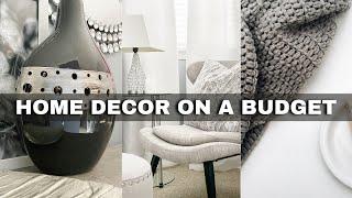 10 *BUDGET-FRIENDLY* Home Decor Tips + DIY decor ideas⎟FRUGAL LIVING TIPS