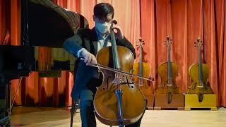 Dailey workshop Carcassi model cello no.111, 2021