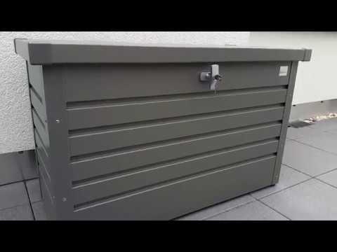 Vorstellung und Erklärung: Auflagenbox/Gartenbox von