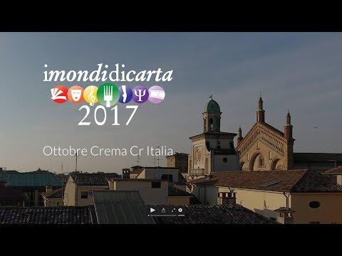 Festival I Mondi di Carta a Crema: chef stellati e celebrità per l'edizione 2018